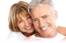 chicago dentist- eldery couple